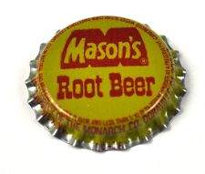 Mason's Root Beer Kronkorken USA Soda Bottle Cap Plastikdichtung