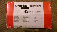 Unipart Brake Front Pads GBP329AF Honda Prelude Legend Accord Integra R Rover
