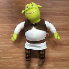 """Jumbo Shrek 2 Plush Ogre X-Large Stuffed Toy 25"""" Dreamworks Hasbro 2004"""