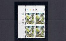 Fiji 2006 Pájaro Provisional 4c/6c ( Sc 1156a Invertido Ovpt ) Placa Negro / 4