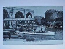 CIVITAVECCHIA imbarco dei Reali barca Roma vecchia cartolina