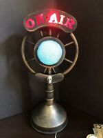 HALLOWEEN SPOOKY MICROPHONE RADIO LIGHTS SOUNDS