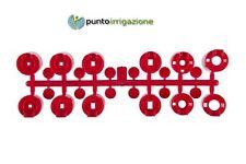 Set kit ugelli standard rossi irrigatore dinamico Hunter PGP ADJ traiettoria 25°