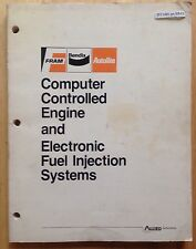 COMPUTER CONTROLLED ENGINE AND ELECTRONIC FUEL INJECTIONS SYSTEMS BOOK