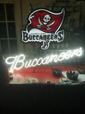 """Tampa Bay Buccaneers Neon Sign 20""""x16"""" Bar Pub Beer Light Lamp Gift"""