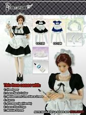 DOLLSFIGURE CC125 1/6 Female Maid Wear Clothing Suit Skirt Cosplay Costume
