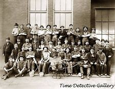 Foundry Workers, Cadillac Motor Co., Detroit, MI - 1903 - Historic Photo Print