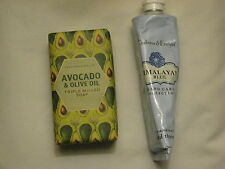 NEW CRABTREE & EVELYN HIMALAYAN BLUE HAND THERAPY PLUS AVOCADO & OLIVE OIL SOAP