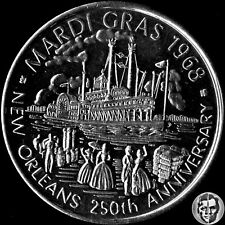 New Orleans  Lyons Carnival Club 250th Anniversary Mardi Gras 1968 Momento