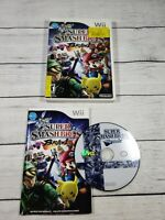 Super Smash Bros. Brawl (Wii, 2008) Complete CIB