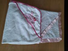 Kapuzen Badetuch  und Baby Decke handgenäht