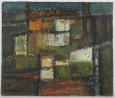 Jean Saussac (1922-2005) Huile sur Toile Expressionnisme abstrait vers 1950 HST