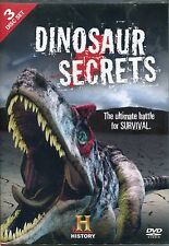 DINOSAUR SECRETS - 3 DVD BOX SET, ULTIMATE BATTLE FOR SURVIVAL, HISTORY CHANNEL