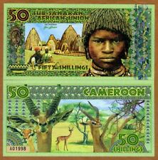 Sub-Saharan African Union, 50 Shillings, 2019, Private Issue Polymer > Boy
