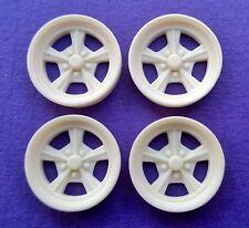 Resin 1/24 1/25 Radir Style Wheels - Street Set