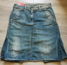Original EVISU Skirt Overlay shorts Size 30 Denim Jeans RRP €262
