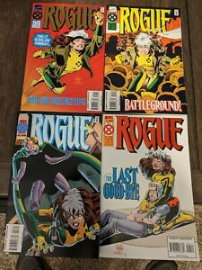 Marvel Comics - X-Men - Rogue - Limited Series - Issues #1,#2,#3,#4 complete set