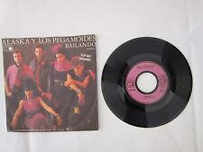 """Alaska y lote Pegamoides-bailando-alta tension-single - 7"""" - 2116"""