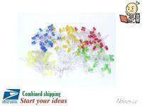 50pcs 3mm / 5mm LED Light Colors : Orange / Yellow / Red / Blue / Green DIY