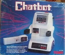 VINTAGE TOY. RARE 80'S TOMY CHATBOT ROBOT RADIO CONTROLLED #5404 MIB