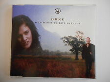 DUNE : WHO WANTS TO LIVE FOREVER (QUEEN) [ CD SINGLE ] ~ PORT GRATUIT