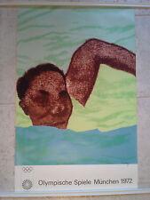 Original vintage Munich 1972 Olympic Games Poster Ronald Kitaj