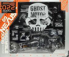 New Kaiyodo Assemble Borg NEXUS 022 Jackal & Yeager ghost motor ABS&PVC