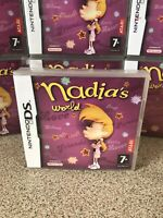 Atari Nadia's World Nintendo DS 2DS & 3DS Girls Game Complete New Sealed RARE