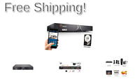 TIGERSECU Super HD 1080P 16-Channel Hybrid 5-in-1 DVR NVR Security Video Reco...
