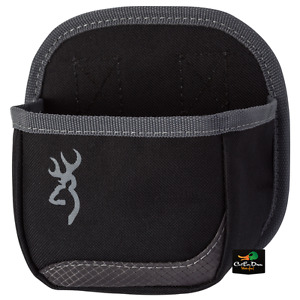 NEW BROWNING FLASH SHELL BOX CARRIER POUCH BLACK GRAY BUCKMARK LOGO