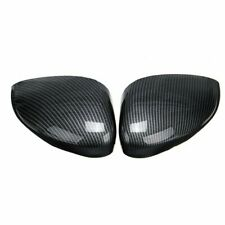 New listing Carbon Fiber Car Rearview Mirror Cover Trims For Ford Fiesta Mk7 2008-2019 Us