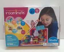 Roominate 70 Piece Studio Wired Building Kit STEM Learning Skill Toy