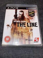 Spec Ops: The Line PS3 * En Excelente Estado *