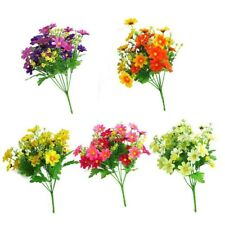 1 Bunch Artificial Fake Silk Flower Daisy Bouquet Home Wedding Party Decoration.
