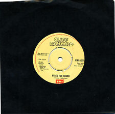"CLIFF RICHARD - WIRED FOR SOUND / HOLD ON 7"" 45RPM SINGLE 1981 RECORDS EMI 5221"