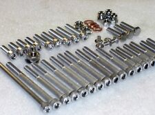 Suzuki RMX50 95-04 Engine Covers & Cylinder Stainless Allen Bolts Nuts kit 38pc