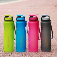 1L Bottle Cup Outdoor Sports Drinking Water Bottle Leak-Proof Cycling Travel Cup