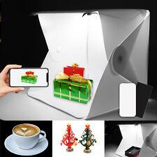 Portable Photo Studio Lighting Mini Box Photography LED Light Tent Backdrop UK