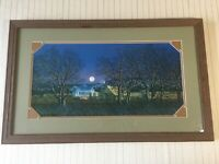 "George Boutwell ""Shades of Twilight"" Signed, Limited Edition Print, Framed"