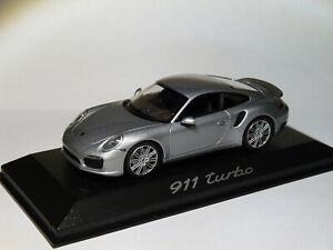 Porsche 911 991 Turbo coupé au 1/43 Minichamps WAP0203660E