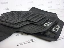 Audi Q2 Gummimatten/Gummifußmatten/Allwetterfussmatten Audi Q2 vorne und hinten