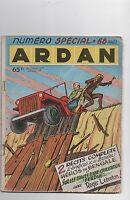 ARDAN n° Spécial  2/1957 - Artima  -  Bel état