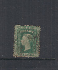 NSW 1860 3d Blue-green DIADEM- p12- wmk '3'- SG140 Cat £48 G-FU