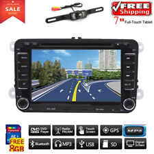 "7"" Autoradio DVD GPS Bluetooth Pour VW Golf MK5 MK6 Passat CC Skoda Touran Jetta"