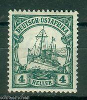 Deutsche Kolonien Deutsch-Ostafrika DOA 31 , ** , * , o ,