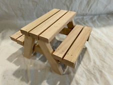 New listing Squirrel Feeder Picnic Table - Solid Wood - Handmade In Usa