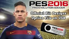 PES 2016 Official Kits on USB for PS4 - Pro Evo Playstation 4 Option File