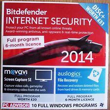 Bitdefender Internet Security 2014 + 2 autres Full programmes Windows 8
