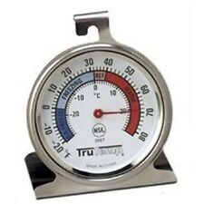 NEW TAYLOR 3507 REFRIGERATOR FREEZER DIAL TYPE THERMOMETER TRUTEMP SATINLESS