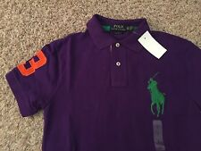 NWT Polo Ralph Lauren Short Sleeve Polo Shirt Big Pony CUSTOM FIT XS (1985)